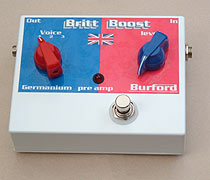 Burford Electronics Britt Boost treble booster
