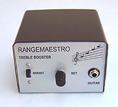 Rangemaestro treble booster - designed by Alan Exley